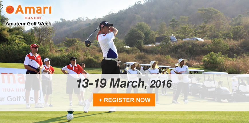 Amari Hua Hin Amateur Golf Week – March 2016
